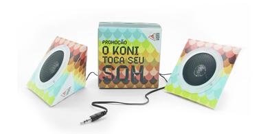 Caixa de Som Koni Store